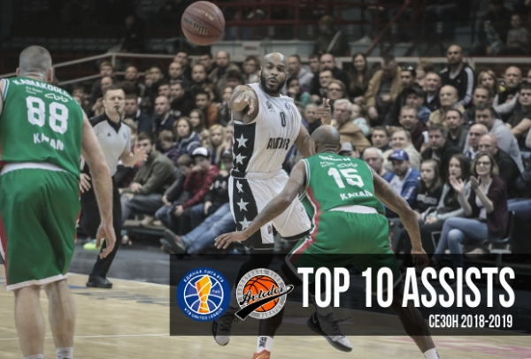 Avtodor TOP 10 Assists In The 2018-19 Season!