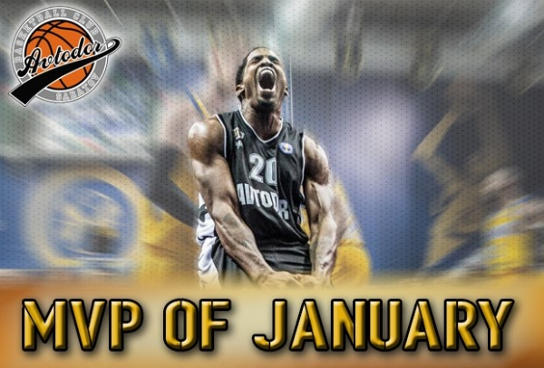 McKissic Has Been Named The Avtodor MVP In January!