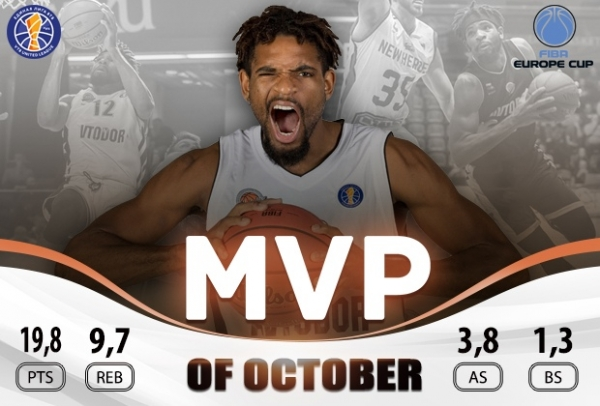 Perrin Buford Has Been Named The Avtodor MVP In October!
