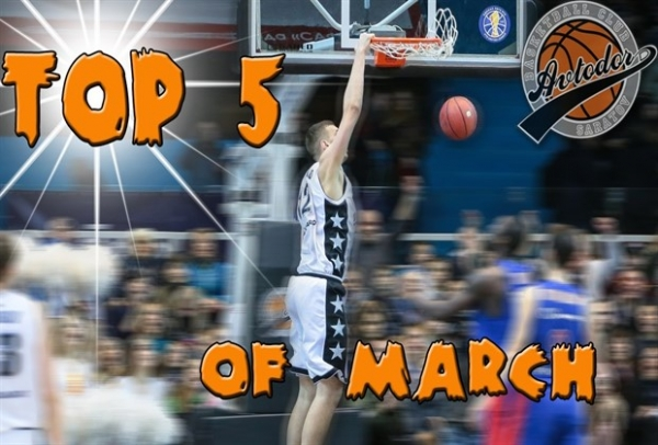 TOP 5 Plays Of Avtodor In March!