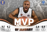 Trae Golden Has Been Named The Avtodor MVP in January!