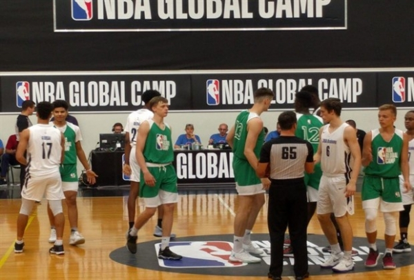 Михайловский – в лагере «NBA Global Camp»
