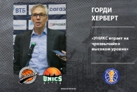 "Gordie Herbert: ""UNICS Is Playing Extremely High Level"""